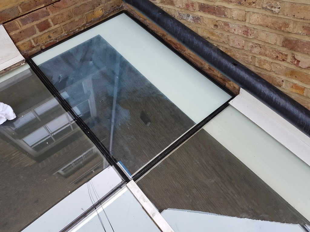 rope access roof glass replacement