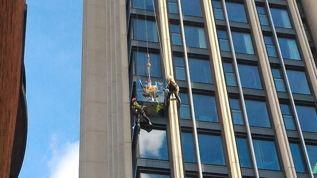 high level glazing glass replacement