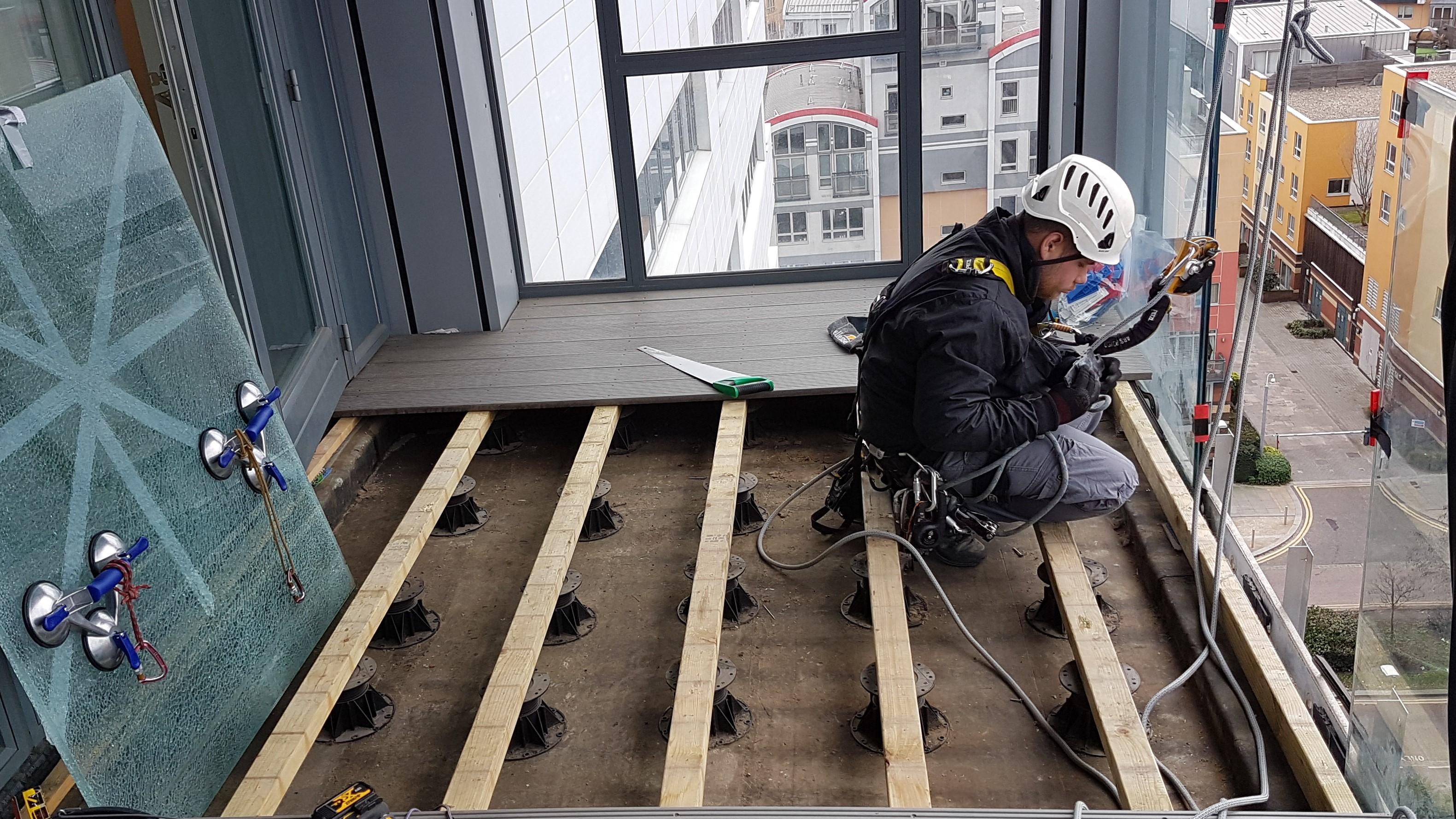 glass balustrade repair