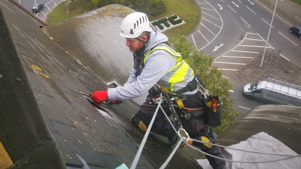 high level roof repairs
