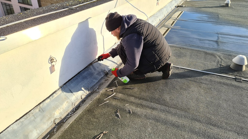 lead flashing repairs