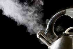 Steam is a major factor in damage to kitchen units and cabinets