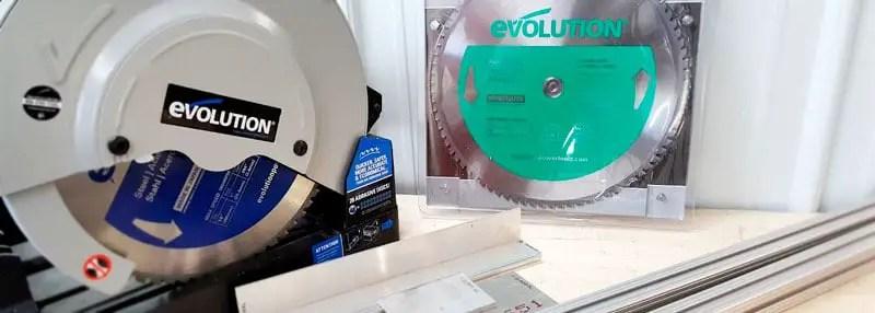 Evolution Power Tools 12BLADEAL Aluminum Cutting Saw Blade - Best Premium Circular Saw Blade