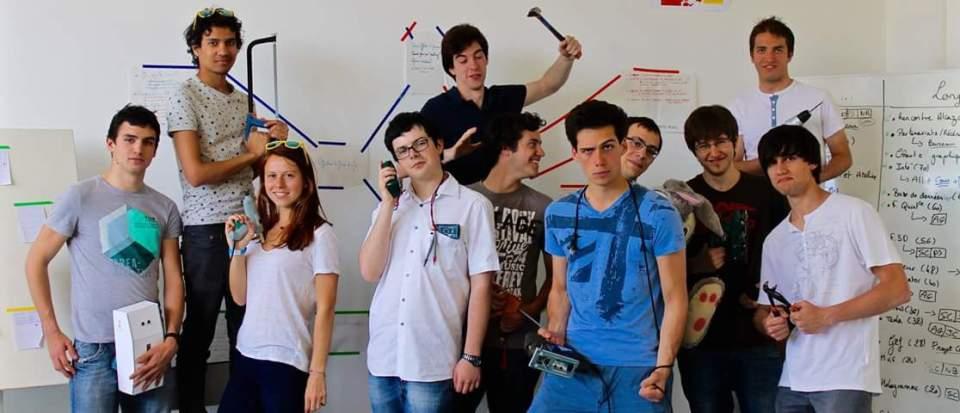 Photo de l'équipe du Fablab Marseille
