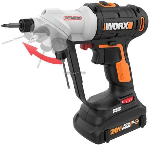 WORX Switchdriver 2 in 1 cordless drill