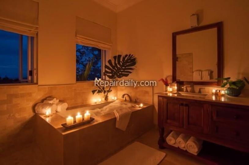 spa bath room