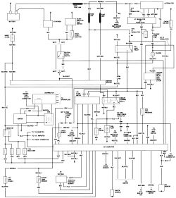 1984 Nissan 720 Pick Up Carburetor Diagram, 1984, Free