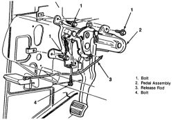 | Repair Guides | Parking Brake | Pedal Assembly