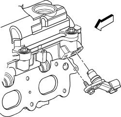   Repair Guides   Component Locations   Camshaft Position Sensor   AutoZone