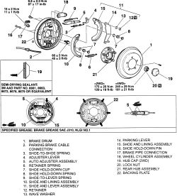 | Repair Guides | Rear Drum Brakes | Brake Drums
