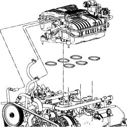| Repair Guides | Engine Mechanical Components | Upper Intake Manifold (plenum) | AutoZone