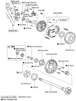 | Repair Guides | Rear Axle | Axle Shaft, Bearing & Seal