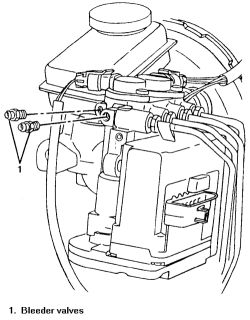   Repair Guides   Antilock Brake System   Bleeding The