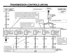 4R100 Transmission Diagram
