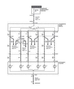 | Repair Guides | Gear Selection Indicator Wiring Diagram