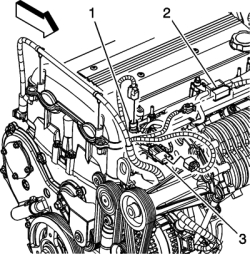 1994 Buick Lesabre 38L FI OHV 6cyl | Repair Guides | Component Locations | Coolant Temperature