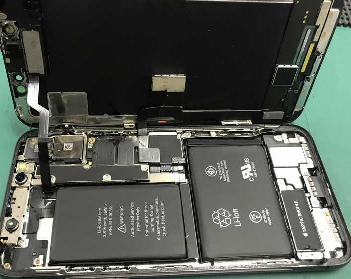 千葉県富里市七栄より、iPhoneX水没修理・データ救出のご依頼