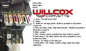 19781982 Corvette Wiper Switch Testing Wpulse Wipers