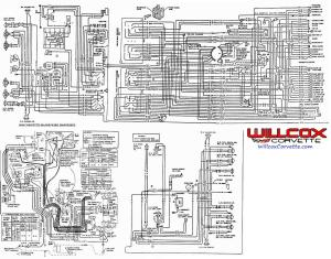 1968 Corvette Wire Schematic 68 Corvette From The AIM | Willcox Corvette, Inc