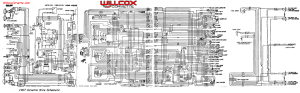 1967 Corvette Wiring Diagram (tracer schematic) | Willcox Corvette, Inc