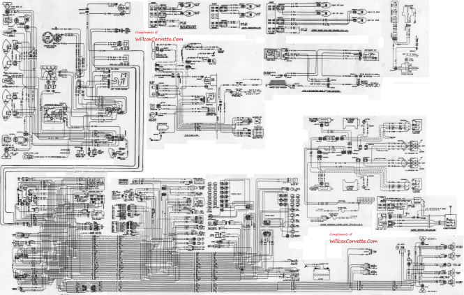 c3 corvette wiring diagram wiring diagram link to c3 c4 vette wiring diagrams grumpys performance garage 1968 corvette laminated