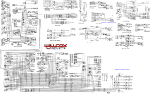 1978 Corvette Tracer Schematic | Willcox Corvette, Inc