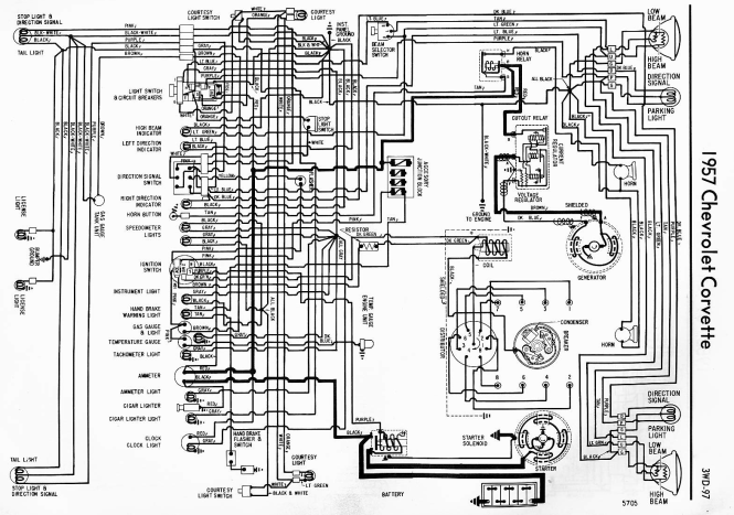 1957 chevy wiring diagram wiring diagram 1959 corvette wiring diagram discover your chevy wiring diagrams source