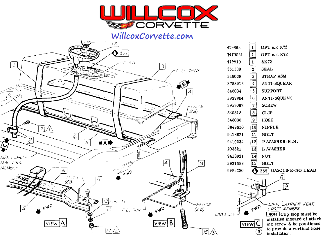 Chevy Corvette Belt Diagram