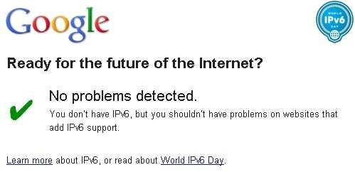 Saber si mi red soporta IPv6 Saber si mi red soporta IPv6