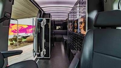 Custom Sprinter van