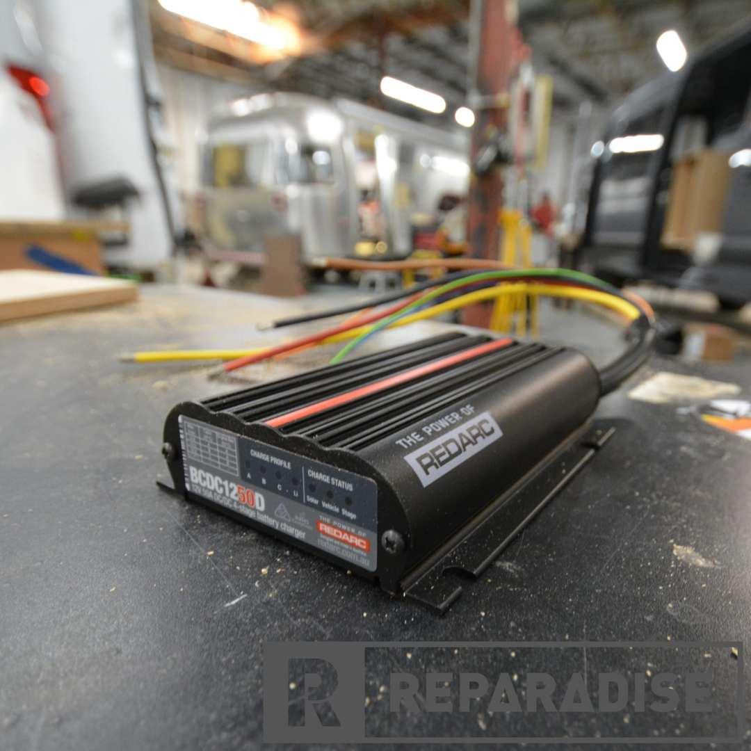 Smart Solar charger for van