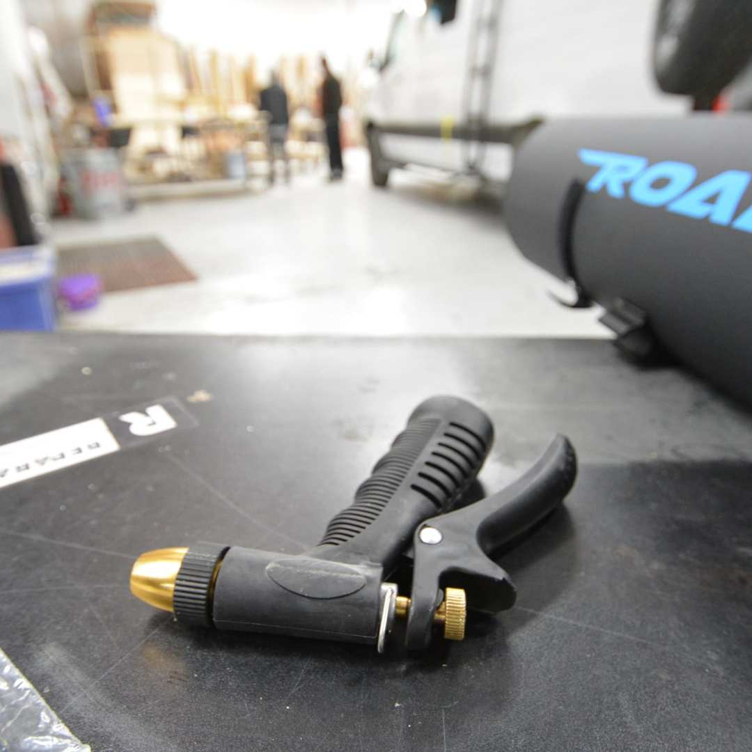 Nozzle for RoadShower