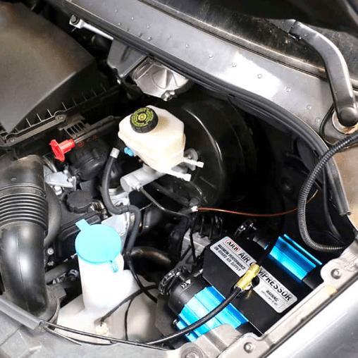 Installed ARB Compressor