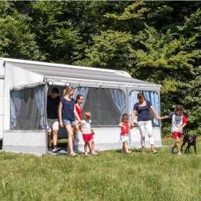 fiamma awning sprinter overland camp trailer
