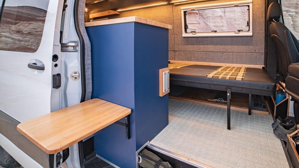 Custom Sprinter van Cabinet