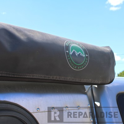 Nomadic Awning on Ford Ranger (OVS Logo)