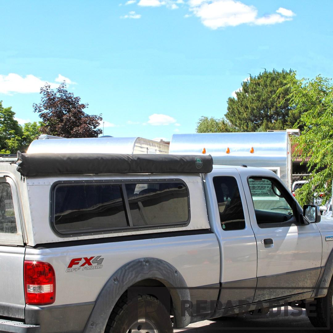 Nomadic Awning on Ford Ranger (Folded)