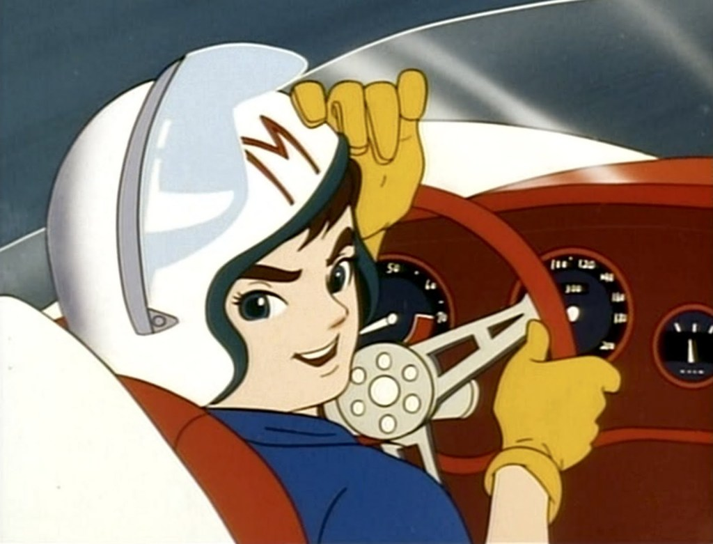 speed racer dentro do mach 5