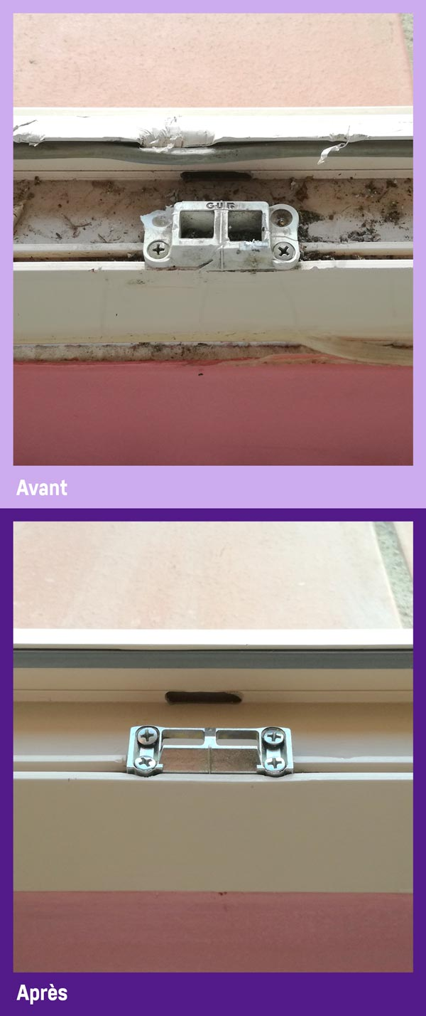 La réparation de fenêtre PVC par Gailhard Création de Saint Sulpice