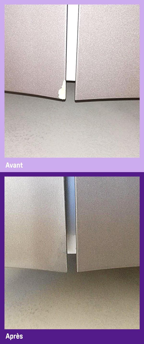 La réparation de porte PVC par Gailhard Création de Saint Sulpice dans le Tarn