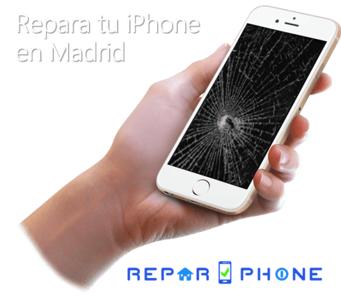 Repara tu iPhone en Madrid, con ReparPhone