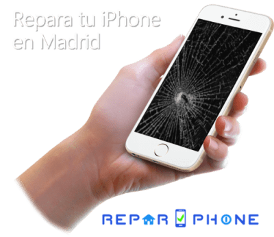 reparar / arreglar tu iPhone en Madrid