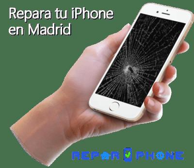 reparar / arreglar tu iPhone en Madrid