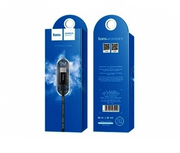 Accesorios para móviles CABLE DE CARGA TIPO C 2 METROS