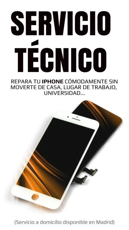 Servicio Técnico iPhone en Madrid