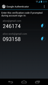 google-authenticator