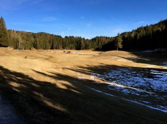 Lottensee, a seasonal alpine lake