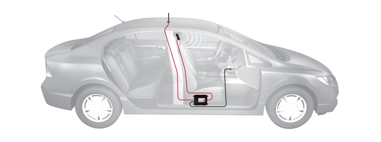 Підсилювач стільникового (мобільного) зв'язку для автомобіля