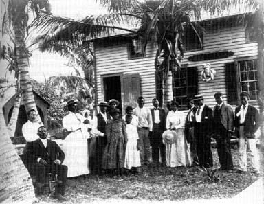 Miamis Lemon City Cemetery Repeating Islands