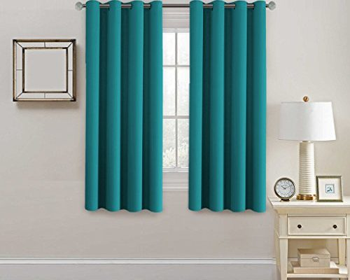 HVERSAILTEX Blackout Curtains Amp DrapesThermal Insulated Small Curtain For Bedroom 52 Inch Wide